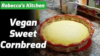 Vegan Sweet Cornbread Recipe On Rebecca's Kitchen
