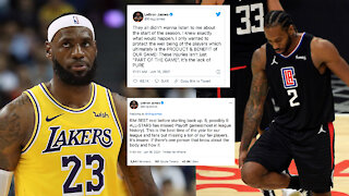 LeBron James SLAMS NBA As Injuries Pile Up In Playoffs After Shortened Off-Season