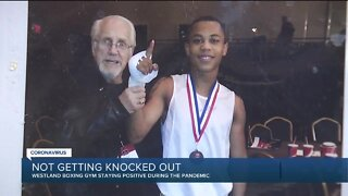 Westland boxing gym staying positive during the pandemic