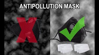 Anti Pollution Face Protective Mask With Carbon Filter (Make the Right Decision Before Buy)
