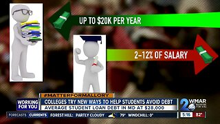 Colleges are giving away money for tuition, but they want something in return