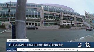 City reviving convention center expansion