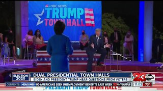 Dual presidential town halls took place on Thursday