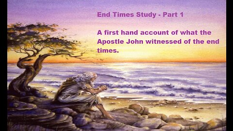 Chapter 2 - End Time Study - Part 1