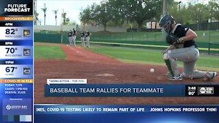Saint Leo Baseball team rallies to support player battling cancer