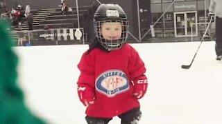 Norwegian two-year-old is hockey prodigy