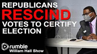Wayne County Election Board Republicans RESCIND Votes