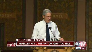 Robert Mueller ordered to testify to Congress