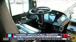 Public transportation takes major hit amid pandemic