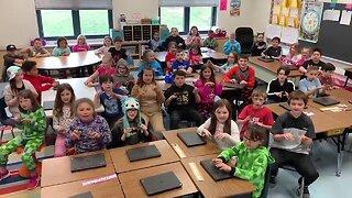 Bainbridge Elementary inspires others through a song
