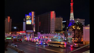 Protesters take over Las Vegas Strip in response to George Floyd's death