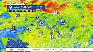 A chance of rain returns to southern Arizona