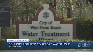Florida Department of Health investigating West Palm Beach over water advisory