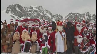 World's best Santa Claus chosen at hilarious competition