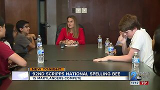 15 Marylanders prepare to compete in the 92nd Scripps National Spelling Bee