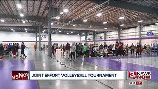Joint Effort volleyball tournament