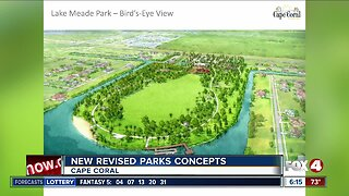 New revised parks concepts in Cape Coral
