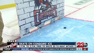 Free chance to skate on Bakersfield Condors ice Sunday