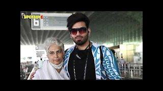 Spotted: Paras Chhabra and Mahira Sharma At the Airport | SpotboyE