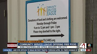 Community Services League offering free food during COVID-19 pandemic