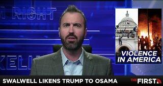 Swalwell Compares Trump to Osama bin Laden