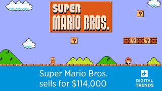 Original copy of Super Mario Bros. breaks records