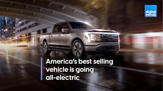 2022 Ford F-150 Lightning: America's bestselling vehicle goes electric