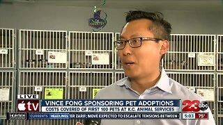 Assemblyman Vince Fong sponsoring 100 pet adoptions