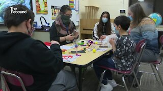 Keshena Primary School gives stress kits to students