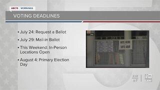 Preparing for early voting in Arizona