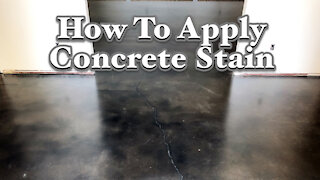 👊 How To Apply Concrete Stain