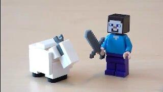 Lego Minecraft Goat Tutorial