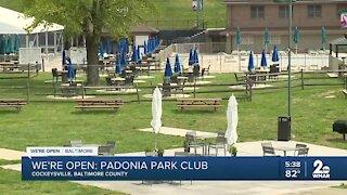 We're Open: Padonia Park Club