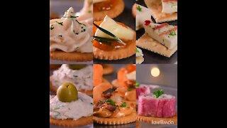 6 Easy Snacks for Formal Dinner