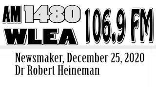 Newsmaker, December 25, 2020