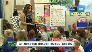 Buffalo Schools to recruit Rochester teachers