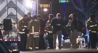 Vegas PD: Apartment complex on lockdown due to possible hazardous substance