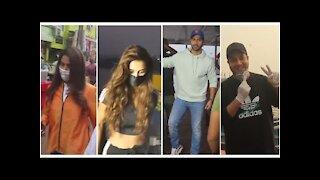 Disha Patani, Varun Dhawan, Genelia Deshmukh & Varun Sharma spotted at Versova jetty | SpotboyE