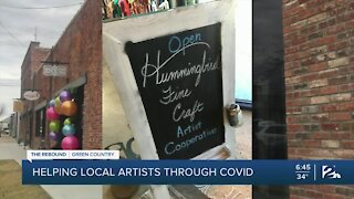 Helping local artists through COVID