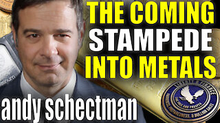 """The Coming """"Stampede"""" Into Gold/Silver   Andy Schectman"""