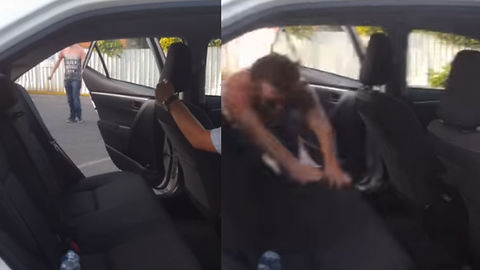 Crazy Kid Shows You Exactly How NOT To Pull Of Backseat Dive Stunt