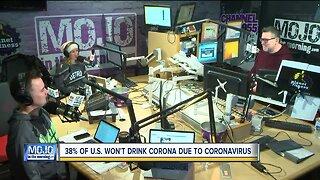 Mojo in the Morning: Some people won't drink Corona due to coronavirus