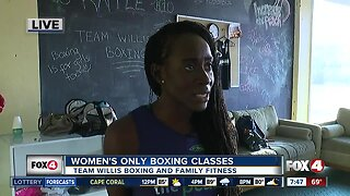 Fort Myers gym hosts women's only boxing classes 7:30 a.m.