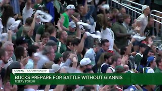 Bucks prepare for battle with Giannis