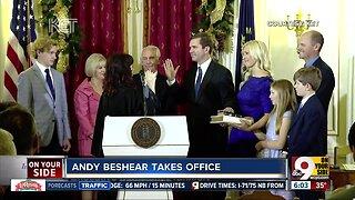 Democrat Andy Beshear sworn in as Kentucky governor