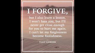 I forgive [GMG Originals]