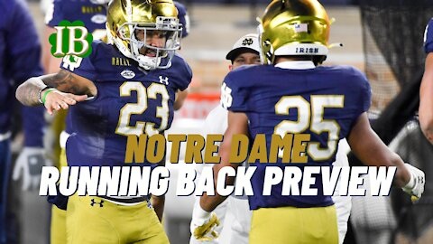 Notre Dame Running Back Depth Chart Must Dominate In 2021