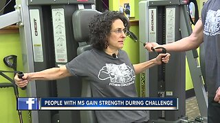 People with MS gain strength during fitness challenge