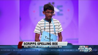 Amphi student advances to next round of Scripps National Spelling Bee