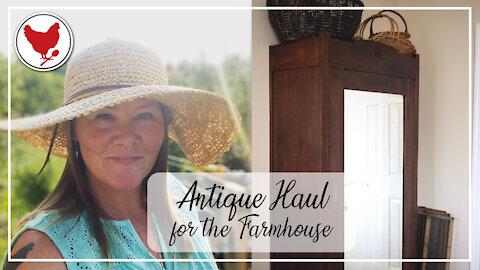 Farmhouse Antique Haul